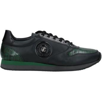 《セール開催中》GIOVANNI CONTI メンズ スニーカー&テニスシューズ(ローカット) ブラック 39 革