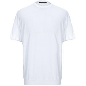 《期間限定セール開催中!》MESSAGERIE メンズ プルオーバー ホワイト 54 コットン 100%