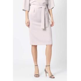 PINKY & DIANNE / ピンキーアンドダイアン [ウォッシャブル]ウエストリボンセットアップスカート
