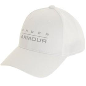 【Super Sports XEBIO & mall店:帽子】ワードマークSTRキャップ HA #1342243 WHT/MGA ACC
