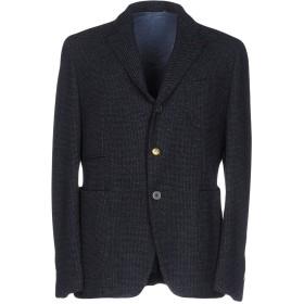 《期間限定セール開催中!》JOHN SHEEP メンズ テーラードジャケット ダークブルー 48 バージンウール 66% / コットン 34%