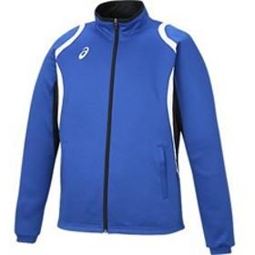 asics アシックス オールスポーツ デコトレーニングジャケット XAT12D-45 ブルー 男女兼用 アパレル お取り寄せ商品