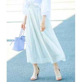 プリーツロングスカート (ロング丈・マキシ丈スカート)Skirts, 裙子