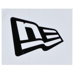 【ニューエラ公式】 ニューエラステッカー ダイカット フラッグロゴ S ブラック メンズ レディース ワンサイズ ステッカー 11099453 NEW ERA