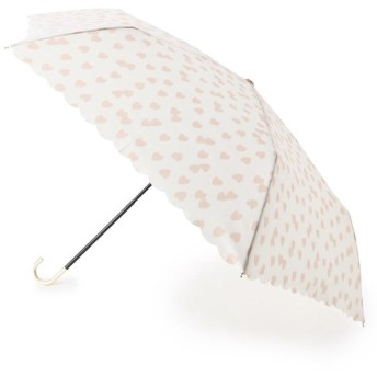 ITS' DEMO(イッツデモ) ハートドット晴雨兼用ミニ傘