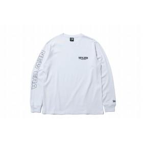 【ニューエラ公式】 長袖 コットン Tシャツ ニューエラ キャップ カンパニー シーン 1920 ホワイト × ブラック メンズ レディース 2X-Large 長袖 Tシャツ 11900248 NEW ERA
