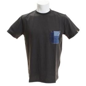 クリフメイヤー(KRIFF MAYER) パッチワークデニムポケットTシャツ 1755901-3-CGRY (Men's)