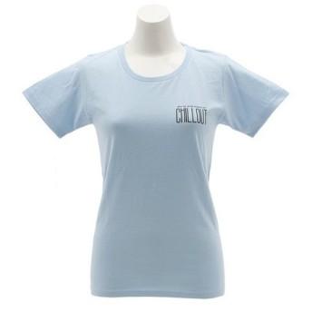 クリフメイヤー(KRIFF MAYER) アウトドアTシャツ CHILL 1819912L-2-SAX (Lady's)