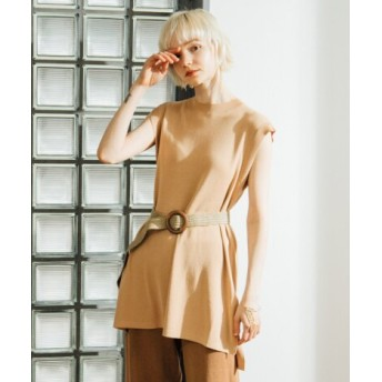 SENSE OF PLACE(センスオブプレイス) ファッション雑貨 ベルト ウッドバックルメッシュアミベルト