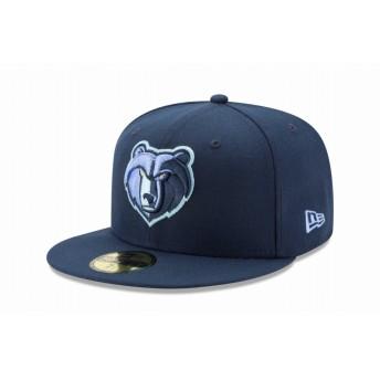 NEW ERA ニューエラ 59FIFTY NBA メンフィス・グリズリーズ ネイビー ベースボールキャップ キャップ 帽子 メンズ レディース 7 1/4 (57.7cm) 12031711 NEWERA
