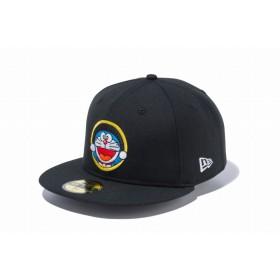【ニューエラ公式】 59FIFTY ドラえもん 通りぬけフープ ブラック メンズ レディース 7 3/8 (58.7cm) キャップ 帽子 12028792 コラボ NEW ERA