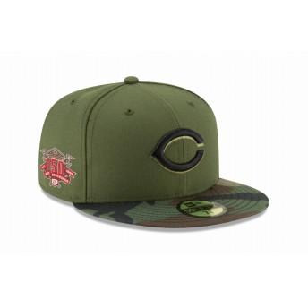 NEW ERA ニューエラ 59FIFTY MLB On-Field シンシナティ・レッズ 150周年記念パッチ オルタネイト2 ベースボールキャップ キャップ 帽子 メンズ レディース 7 1/4 (57.7cm) 12098064 NEWERA
