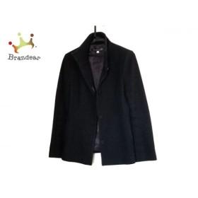 ミッシェルクラン MICHELKLEIN コート サイズ38 M レディース 黒 ショート丈 新着 20190527