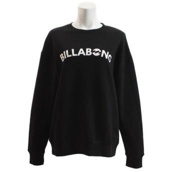 ビラボン(BILLABONG) ロゴトレーナー AI013006 BLK (Lady's)