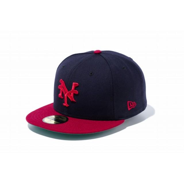 【ニューエラ公式】 59FIFTY ニグロリーグ ニューヨーク・キューバンズ チームカラー メンズ レディース 7 (55.8cm) キャップ 帽子 11781686 NEW ERA