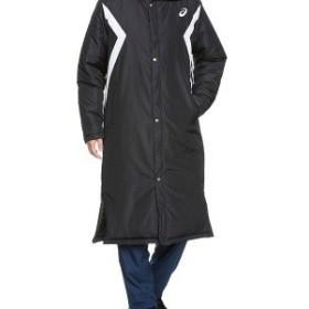asics アシックス カラー:ブラック トレーニングウエア ロングコート (中綿) XA735N [メンズ] お取り寄せ商品