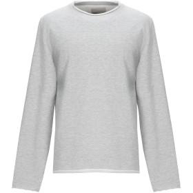《期間限定 セール開催中》RVLT/REVOLUTION メンズ スウェットシャツ ライトグレー M コットン 93% / ポリエステル 7%