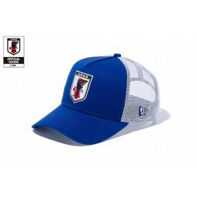 【ニューエラ公式】 9FORTY A-Frame トラッカー サッカー日本代表 Ver. (ブルー・11599576) メンズ レディース 56.8 - 60.6cm キャップ 帽子 11599576 コラボ NEW ERA メッシュ