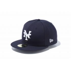 NEW ERA ニューエラ 59FIFTY ニグロリーグ ニューヨーク・キューバンズ ネイビー × ホワイト ベースボールキャップ キャップ 帽子 メンズ レディース 7 (55.8cm) 11781685 NEWERA