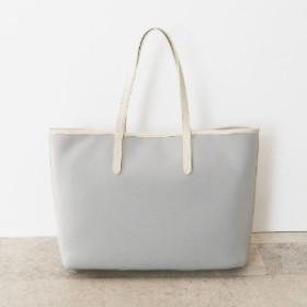 【牛革付属】異素材A4対応トートバッグ