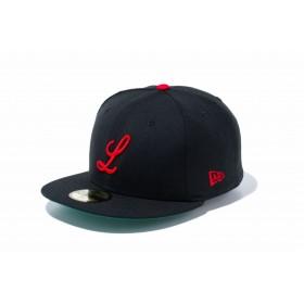 【ニューエラ公式】 59FIFTY ニグロリーグ ルイスビル・ブラックキャップス チームカラー メンズ レディース 7 (55.8cm) キャップ 帽子 11781693 NEW ERA