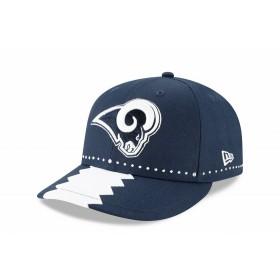 【ニューエラ公式】 LP 59FIFTY 2019 NFL ドラフトキャップ ロサンゼルス・ラムズ メンズ レディース 7 1/2 (59.6cm) NFL キャップ 帽子 12028742 NEW ERA