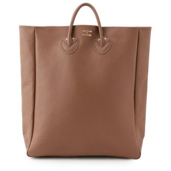 ADAM ET ROPE' / アダム エ ロペ 【YOUNG & OLSEN】 EMBOSSED LEATHER TOTE L