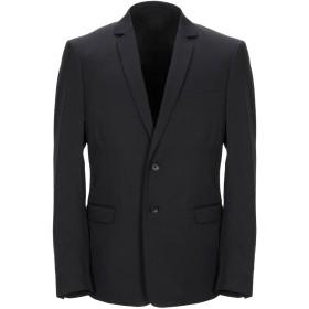 《セール開催中》DIESEL メンズ テーラードジャケット ブラック 44 ウール 52% / ナイロン 26% / ポリエステル 19% / ポリウレタン 3%