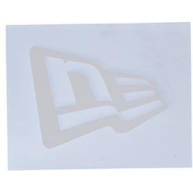 【ニューエラ公式】 ニューエラステッカー ダイカット フラッグロゴ S ホワイト メンズ レディース ワンサイズ ステッカー 11099450 NEW ERA