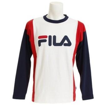 フィラ(FILA) 切替ロゴTシャツ FM4277-01 (Men's)