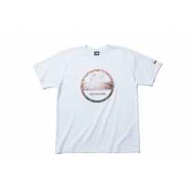 NEW ERA ニューエラ パフォーマンス Tシャツ バスケットボール バイザーステッカー ホワイト 半袖 ウェア メンズ レディース Large 11901345 NEWERA