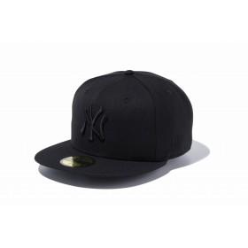 59FIFTY MLB ニューヨーク・ヤンキース ブラック × ブラック