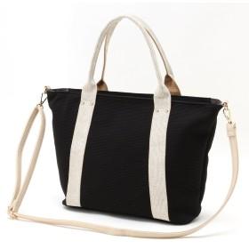 【A4対応】通勤・通学にもラメハンドルトートバッグ