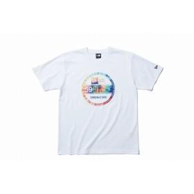 【ニューエラ公式】 パフォーマンス Tシャツ カラータイダイ バイザーステッカー ホワイト メンズ レディース X-Large 半袖 Tシャツ 11901333 NEW ERA