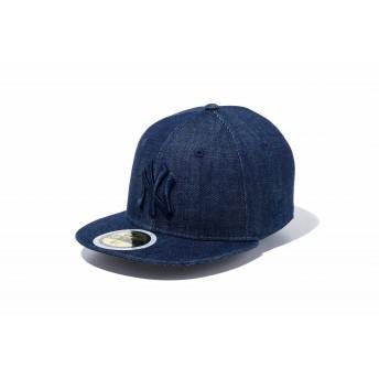NEW ERA ニューエラ キッズ 59FIFTY ニューヨーク・ヤンキース インディゴデニム × ネイビー ベースボールキャップ キャップ 帽子 男の子 女の子 6 1/2 (52cm) 11596308 NEWERA