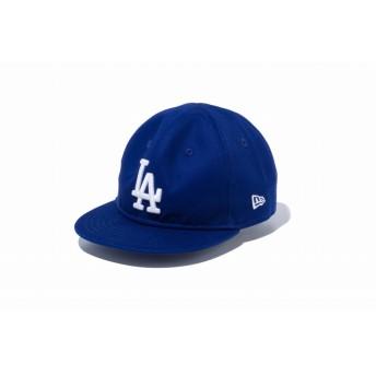 NEW ERA ニューエラ キッズ My 1st 9FIFTY ロサンゼルス・ドジャース ダークロイヤル × ホワイト スナップバックキャップ アジャスタブル サイズ調整可能 ベースボールキャップ キャップ 帽子 男の子 女の子 48.3 - 50.1cm 12018911 NEWERA