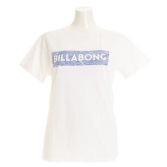 ビラボン(BILLABONG) UNITED ロゴ 半袖Tシャツ AI013204 WHT (Lady's)