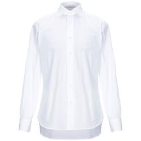 《セール開催中》RATTI メンズ シャツ ホワイト 42 コットン 100%
