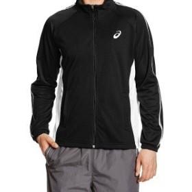 asics アシックス カラー:ブラック トレーニング トレーニングジャケット XAT188 お取り寄せ商品