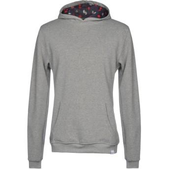 《期間限定セール開催中!》ORIGAMI LAB メンズ スウェットシャツ グレー M コットン 100%