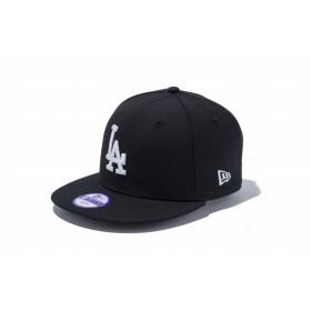 Youth 9FIFTY ロサンゼルス・ドジャース ブラック × ホワイト