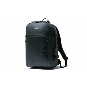【ニューエラ公式】 スマートパック 25L プリントロゴ ブラックターポリン × ブラック メンズ レディース ワンサイズ バックパック 11901925 NEW ERA リュック