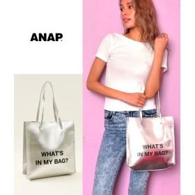 【セール開催中】ANAP(アナップ)プリント2WAYスクエアトートバッグ