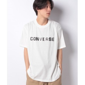 マルカワ 大きいサイズ メンズ コンバース Tシャツ 半袖 プリント ロゴ ブランド メンズ ホワイト 4L 【MARUKAWA】