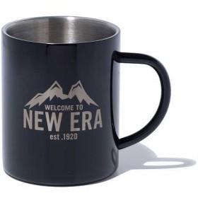 【ニューエラ公式】 ストア限定 MIZU CAMP CUP マグカップ ニューエラマウンテン ブラック (2層構造) メンズ レディース ワンサイズ アクセサリ 12151556 コラボ NEW ERA
