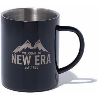 NEW ERA ニューエラ ストア限定 MIZU CAMP CUP マグカップ ニューエラマウンテン ブラック (2層構造) メンズ レディース ワンサイズ 12151556 NEWERA