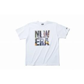 NEW ERA ニューエラ パフォーマンス Tシャツ シティランドスケープ ビッグニューエラ ホワイト 半袖 ウェア メンズ レディース X-Large 11474036 NEWERA