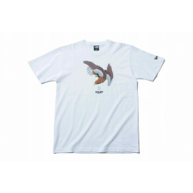 【ニューエラ公式】 コットン Tシャツ 石川真澄 Masumi Ishikawa 鷹 ホワイト メンズ レディース Large 半袖 Tシャツ 11909104 コラボ NEW ERA