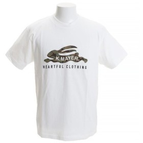 クリフメイヤー(KRIFF MAYER) ロゴTシャツ CAMO 1819906-1-WHT (Men's)