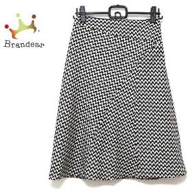 ソニアリキエル SONIARYKIEL スカート サイズ38 M レディース 美品 黒×白   スペシャル特価 20190908